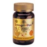 Solgar Kangavites Витамин С таблетки за дъвчене 100мг x90